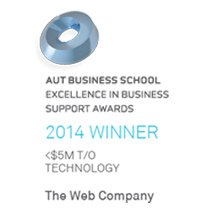AUT Excellence in Business Support Awards - Winner