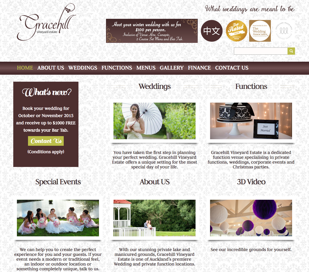 grace hill homepage